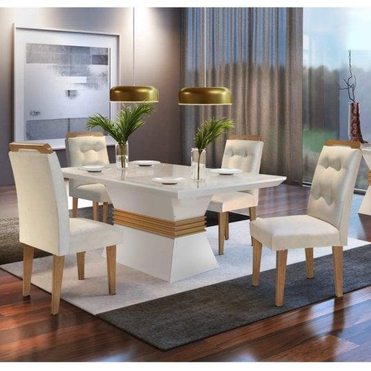 Mesa com quatro lugares, compacta e essencial para sua casa, não perca essa matéria que vai te ajudar a escolher sua mesa de quatro lugares.